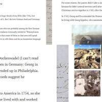 Blogging and Ancestry.com