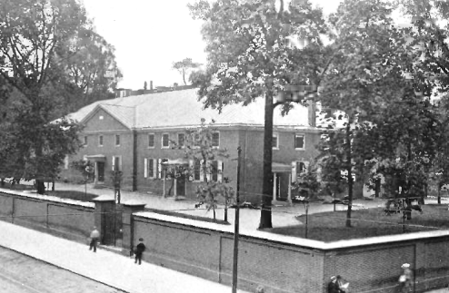 Friend Meeting House Arch and Fourth - Lippincott p. 62