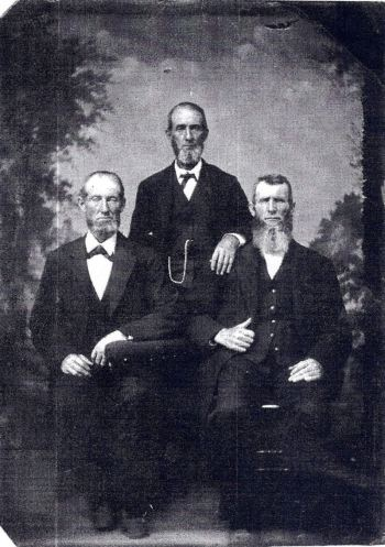 Samuel (center) Isaac John