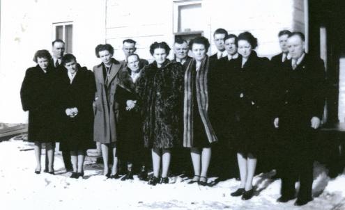 Ekse family - 1940's
