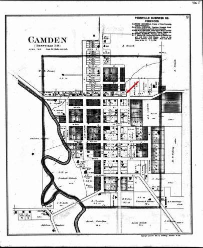 Pennville Plat 1887